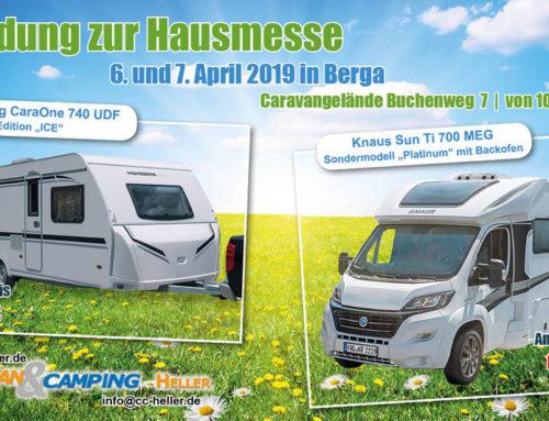Hausmesse 06. – 07.04. 2019